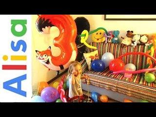 День Рождения Алисы , 3 Годика , Подарки ,торт и Лунапарк + 10 000 ПОДПИСЧИКОВ
