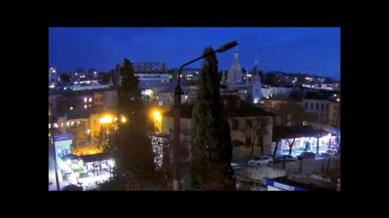 Созвездие Ориона, ночной таймлапс SJCAM5000, Севастополь