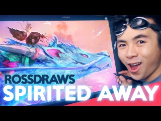 RossDraws: SPIRITED AWAY! (Studio Ghibli!)