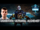 Liquid.FATA- ULTRAKILL Alchemist vs. Fnatic ESL ONE Frankfurt 2016 Dota 2
