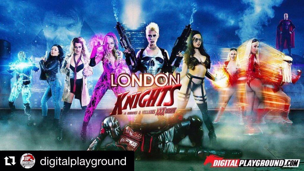 [DigitalPlayground] Mila Milan – London Knights A Heroes and Villains XXX Parody Series – Episode 1