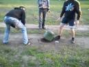 Взрыв петарды Корсар 666 - русское частное любительское [прикольное, видео, смешное, ржачное, новое, угарное, обоссаться, шок
