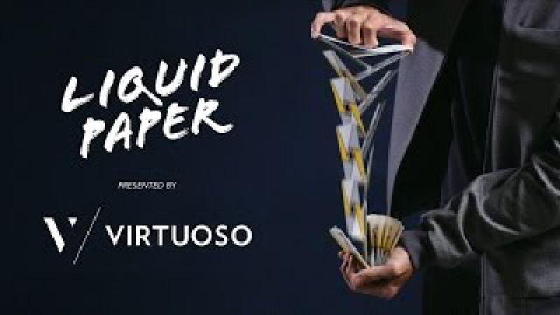 Cardistry - Virtuoso Liquid Paper feat. the SS16 Virtuoso Deck