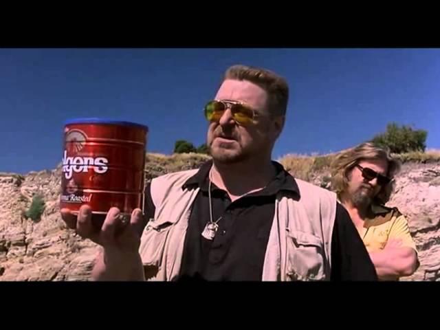 Большой Лебовски - прах Донни