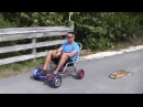 HoverSeat is Sitting On Attachment for Hoverboard Drifting Scooter