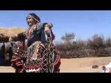 Rangila Langa Group with Judit Abraham Kalbeliya dance at Thar desert