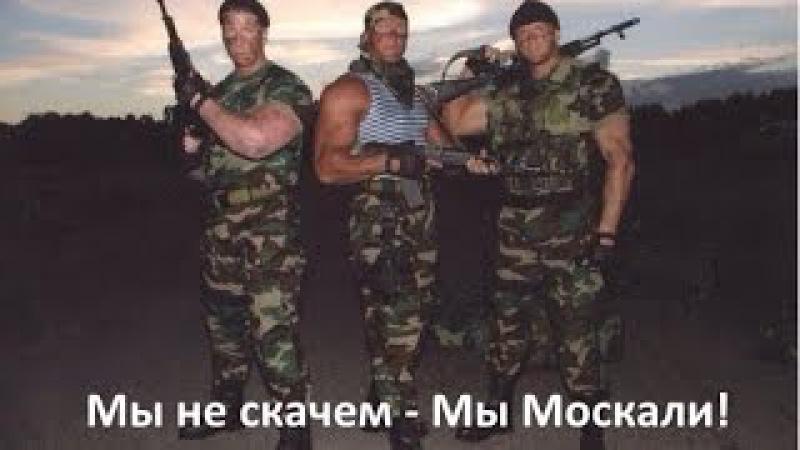 Мы не скачем, мы Москали!