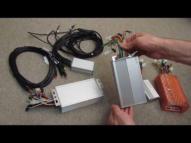 Контроллеры для электровелосипеда мотор колеса Как подключить Назначение проводов
