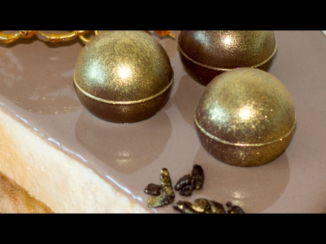 Зеркальная карамельная ГЛАЗУРЬ | Caramel Mirror Glaze Recipe