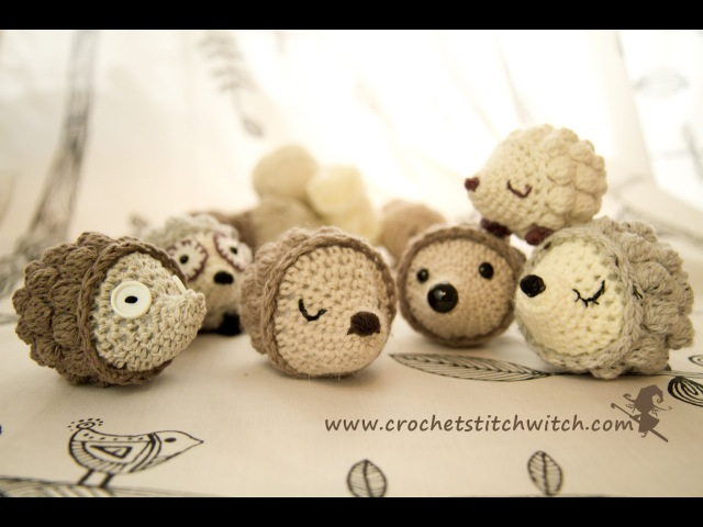 Crochet hedgehog part 1