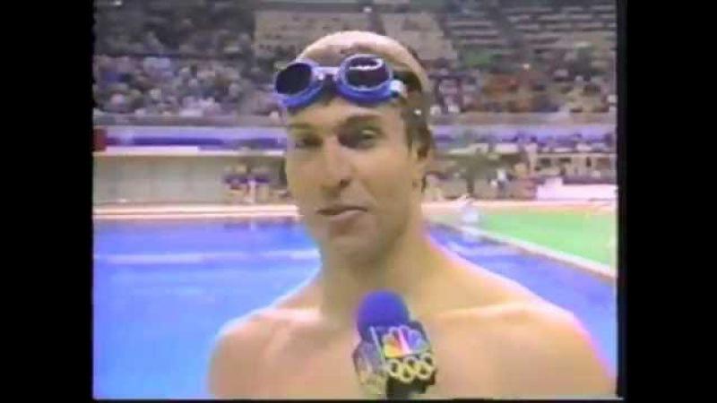 1988 Olympic Games - Swimming - Mens 1500 Meter Freestyle - Vladimir Salnikov URS
