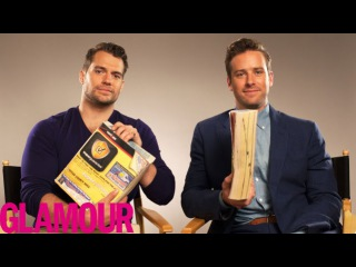 Henry Cavill and Armie Hammer Make the Phonebook Sound Sexy