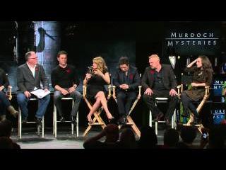 Murdoch Mysteries Cast Talk 100th Episode More at Live QA!