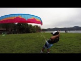 The lightest airplane in the world = Ozone XXLite and FLite combo