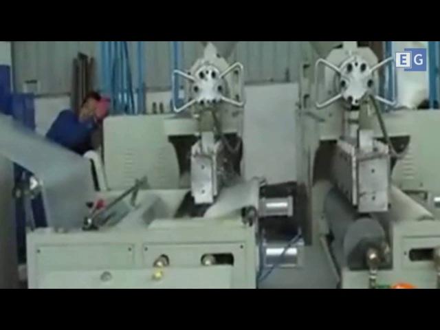 Станок для производства воздушно-пузырчатой пленки