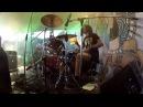 Sergey Egorov - Психея@RockWeekend - Drum cam shot