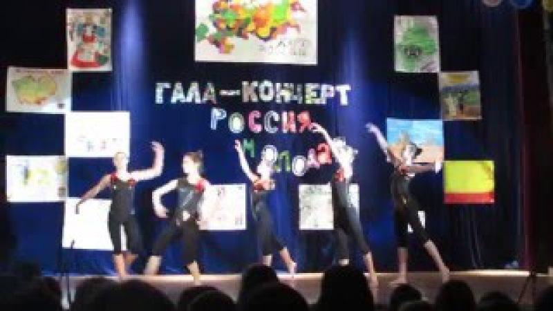 Артек Лазурный, 15 смена, выступление девочек из Красноярского края на гала-концерте