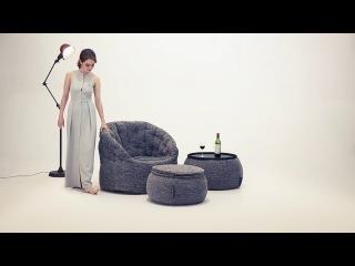 Комплект дизайнерской бескаркасной мебели от ambient lounge®