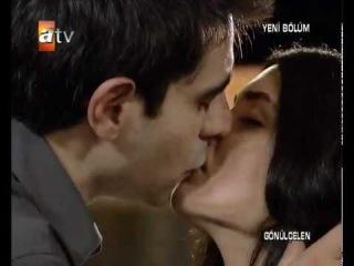 Gönülçelen - 14.bölüm - Hasret Murat İlk öpüşme