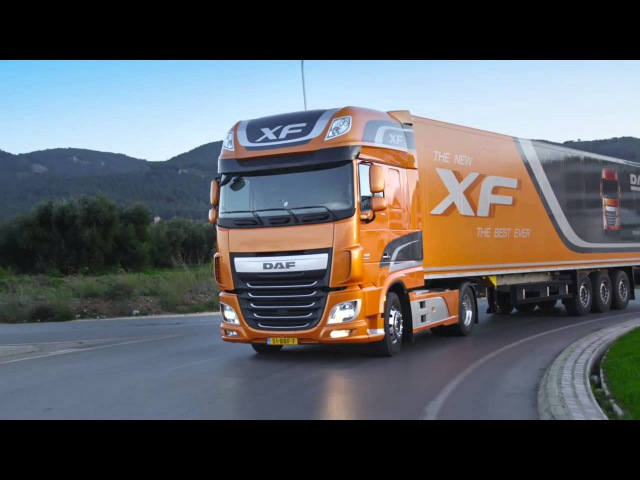 Press ride drive new DAF XF in Malaga
