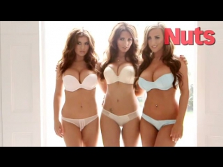 Holly Peers, Kelly Hall Stacey Poole - Topless - Nuts Photoshoot (18th Oct 2012)