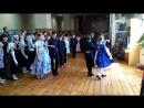 Танец 4-х классов на последнем звонке у 9-го 24.05.16.
