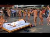 undefined18, Швейцарское правительство поддерживает фестиваль свободы, где содержится публичное обнажение ..