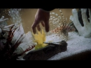 «Голый пистолет» / The Naked Gun: From the Files of Police Squad! (США, 1988) — бойцовская рыбка (встреча с мафиози)