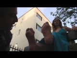 Mistress T (Best Public Foot Worship Clip Ever)