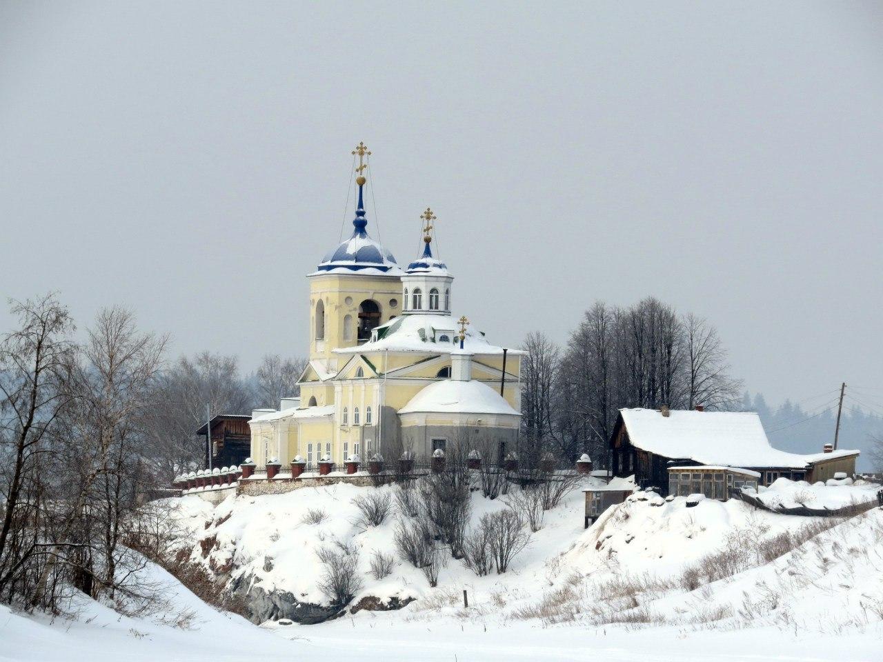 Георгиевская церковь в Слободе
