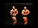 The 1999 British Grand Prix. Ronnie Coleman, Flex Wheeler, Kevin Levron.