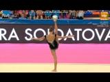 Александра Солдатова - мяч (многоборье) // Кубок Мира Испания 2016