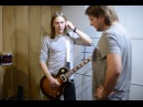 Запись гитары в студии Два Барабанщика группа Банкнота