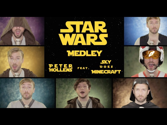 Star Wars Medley The Force Awakens feat Sky Does Minecraft