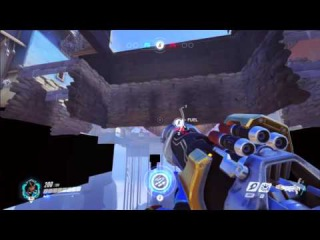 Overwatch Closed Beta Bug - Nepal 1st Stage Under Map Exploit