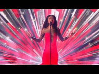 Латвия. Aminata. «Love Injected». Финал. Евровидение 2015