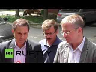 Россия: Московский суд начинает слушания в смерти Генеральный Директор Кристоф де Маржери.