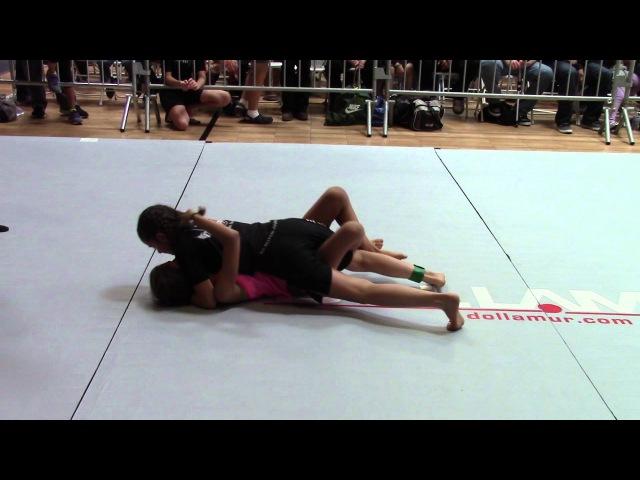 Danielle Lopez, All American Jui Jitsu Vs Andrea Campos, SDCA Team Hurricane Awesome