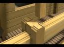компенсатор усадки сруба, домкрат для бруса и бревна