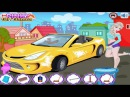 Elsa Car Wash - Old MacDonald - Nursery Rhyme - Kids Car Games