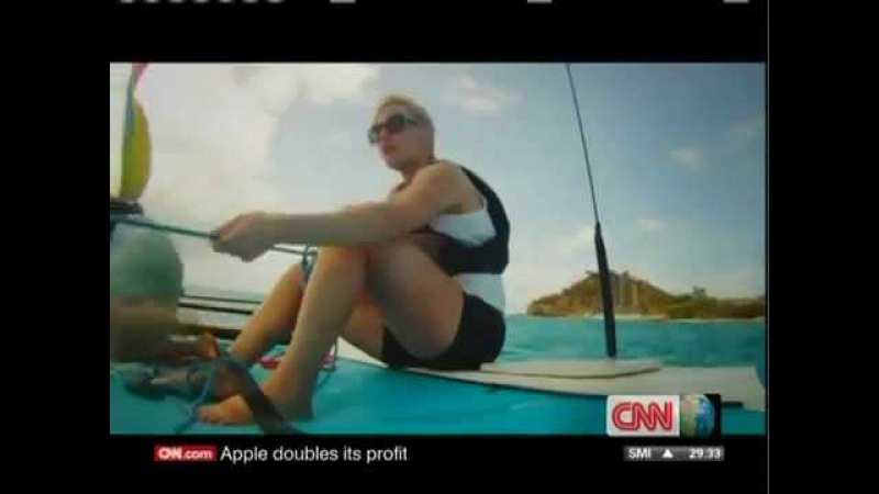 Kate Winslet Sailing with Richard Branson 2011 part 2