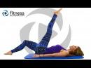 FitnessBlender - Day 2: Pilates Yoga Blend for Flexibility and Toning. 3 Day Flexibility Challenge | Йога пилатес