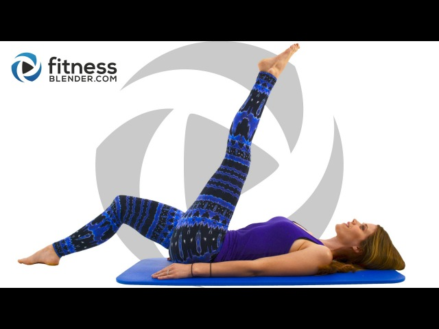 FitnessBlender - Day 2 Pilates Yoga Blend for Flexibility and Toning. 3 Day Flexibility Challenge | Йога пилатес