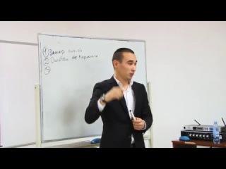 Выступление Самата Садвакасова - тренинг