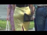 SEXy Lady in Mini-skirt !!! BIG ASS !!! ШИКарная Леди в короткой юбке и с большой попой Part Three !!!