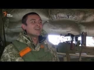Заслуженный артист Украины стал пулеметчиком в зоне АТО: видеофакт