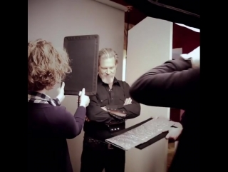 marco grob How the shot was done: JEFF BRIDGES.