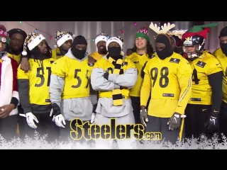 Игроки «Питтсбурга» поют рождественскую песню