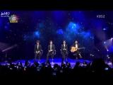 141030 Sabor A Mi - EXO @ Music Bank in Mexico