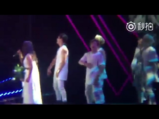 [FANCAM] Hyorin @Heroes of Remix by BaiduHyoLynBar